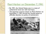 pearl harbor on december 7 1941