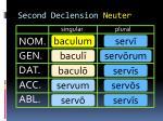 second declension neuter2