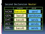 second declension neuter4