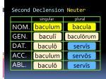 second declension neuter6