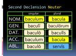 second declension neuter8
