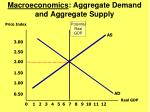 macroeconomics aggregate demand and aggregate supply
