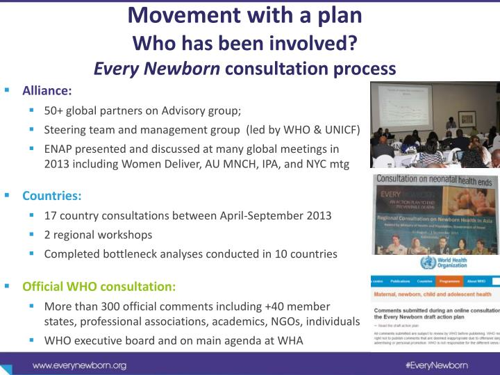 Movement with a plan