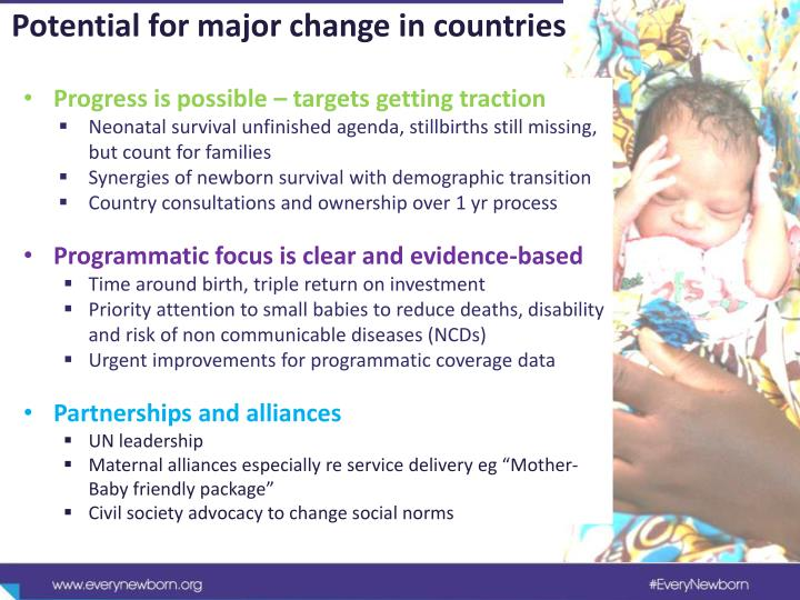 Potential for major change in countries