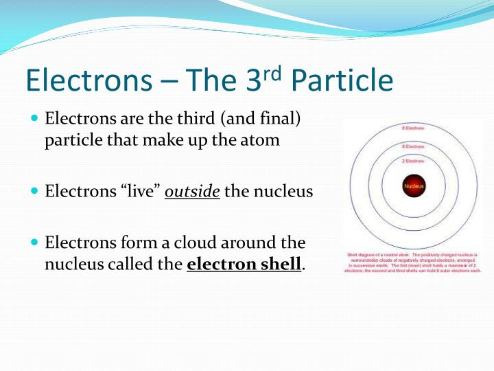Electrons – The 3