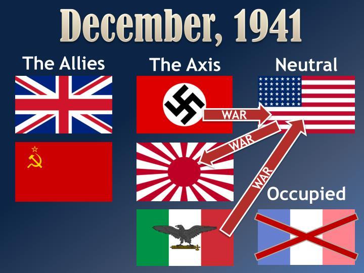 December, 1941