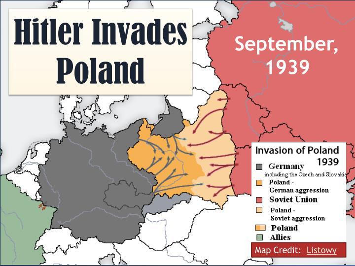 Hitler Invades Poland