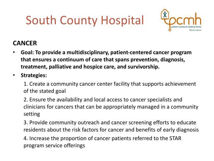South County Hospital