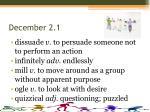 december 2 1