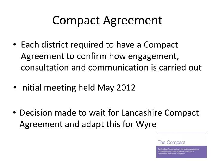 Compact Agreement