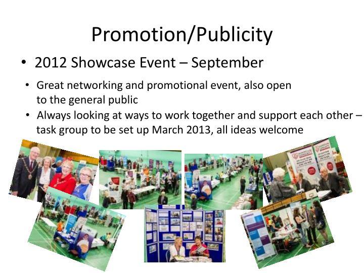 Promotion/Publicity