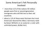 some american s felt personally involved