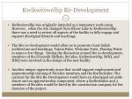 kw kw xwelhp re development