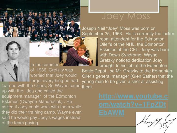 Joey Moss