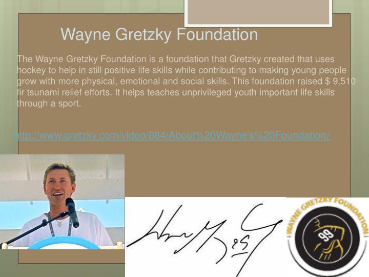 Wayne Gretzky Foundation