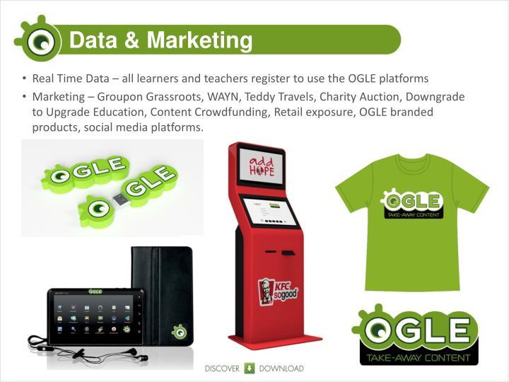 Data & Marketing