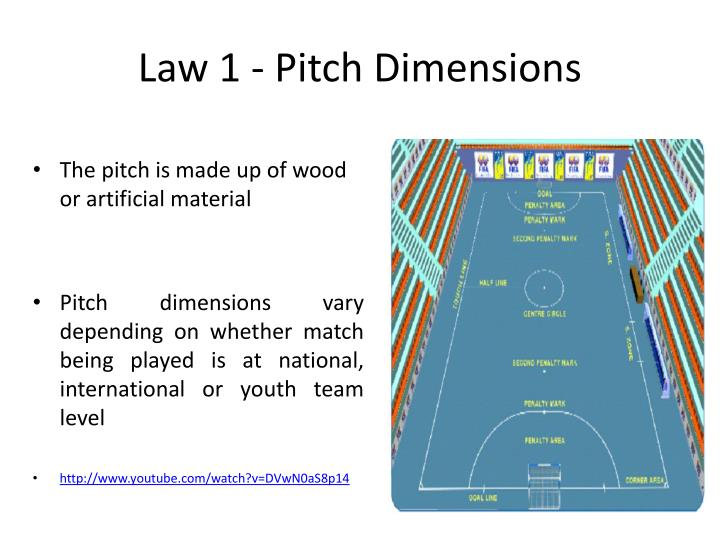 Law 1 - Pitch Dimensions