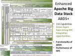 enhanced apache big data stack abds