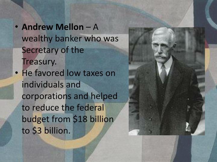 Andrew Mellon