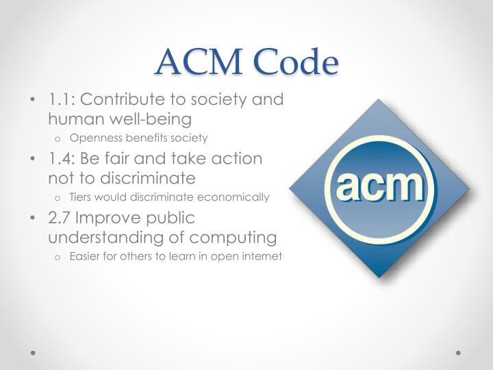 ACM Code