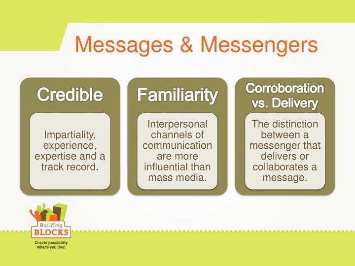 Messages & Messengers