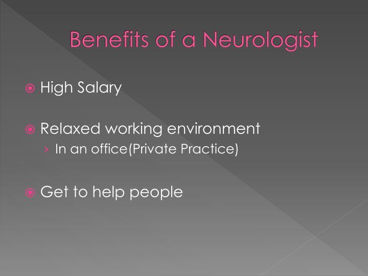 Benefits of a Neurologist