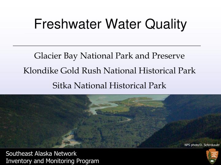 Freshwater Water Quality