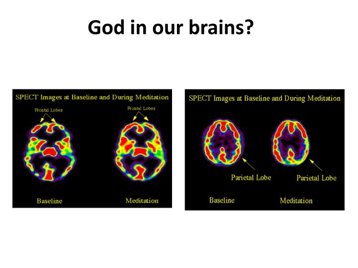 God in our brains?