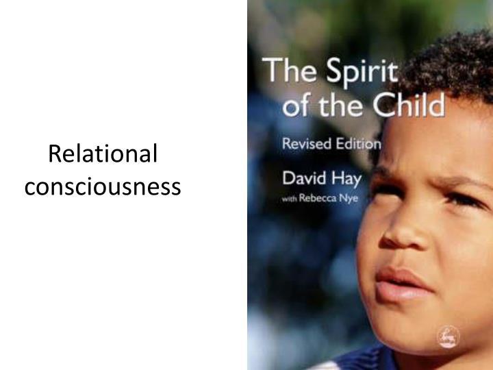 Relational consciousness