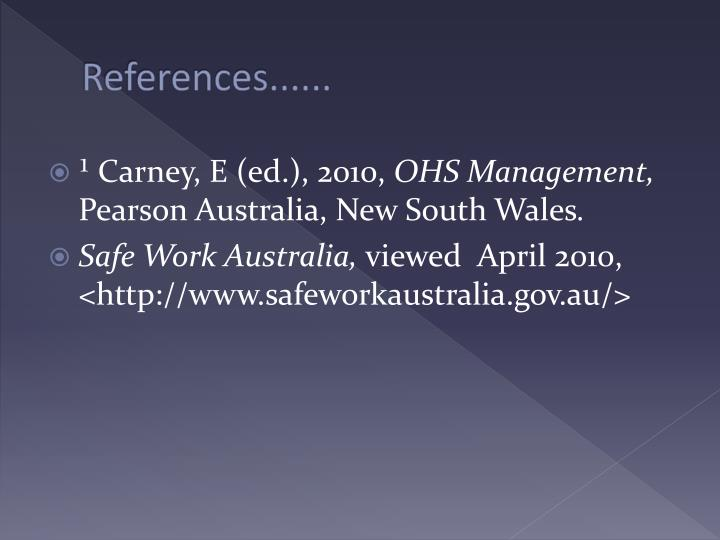 References......