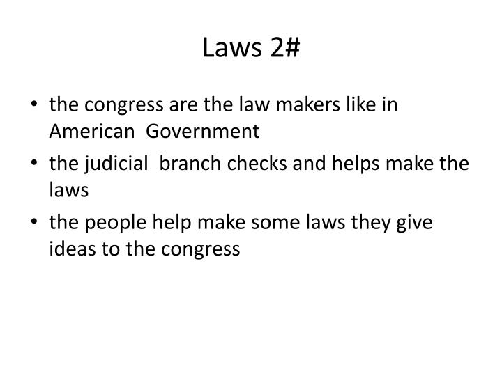 Laws 2#