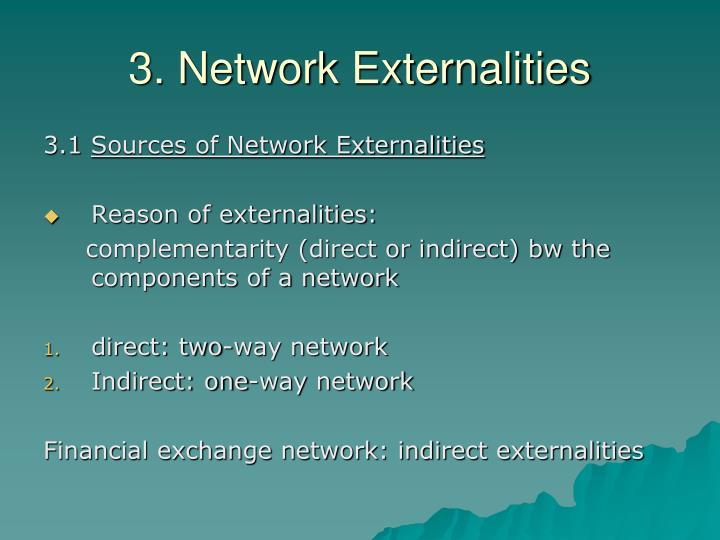 3. Network Externalities