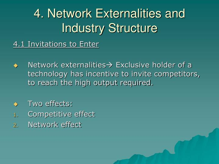 4. Network Externalities and Industry Structure