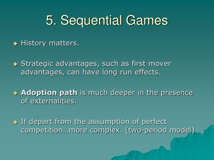 5. Sequential Games