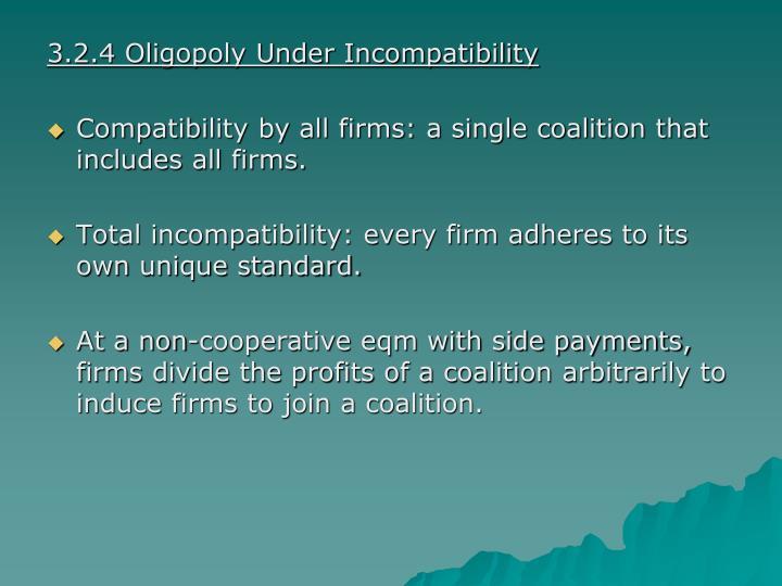 3.2.4 Oligopoly Under Incompatibility