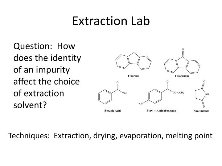 Extraction Lab