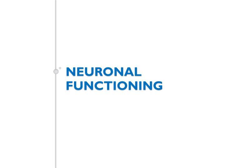 Neuronal functioning