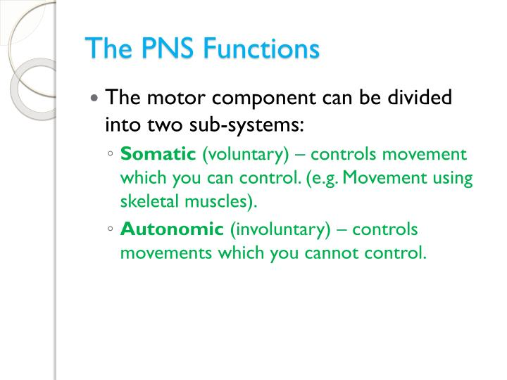 The PNS Functions
