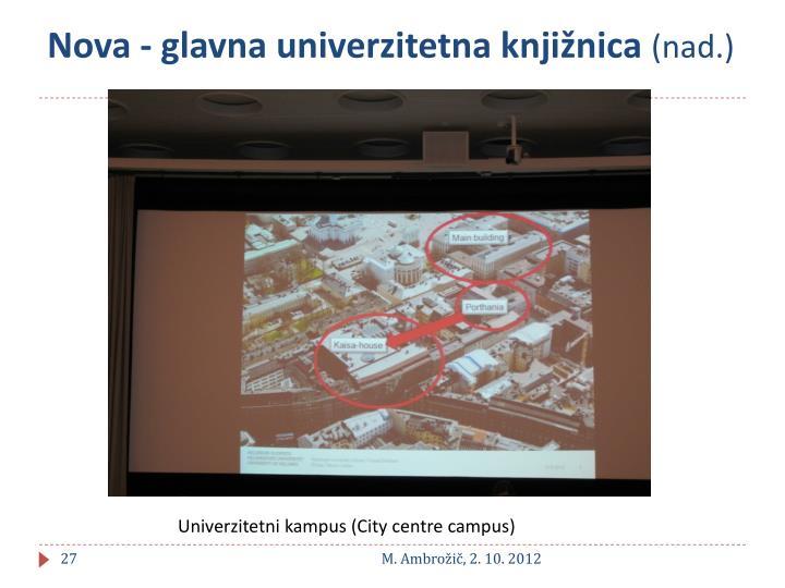 Nova - glavna univerzitetna