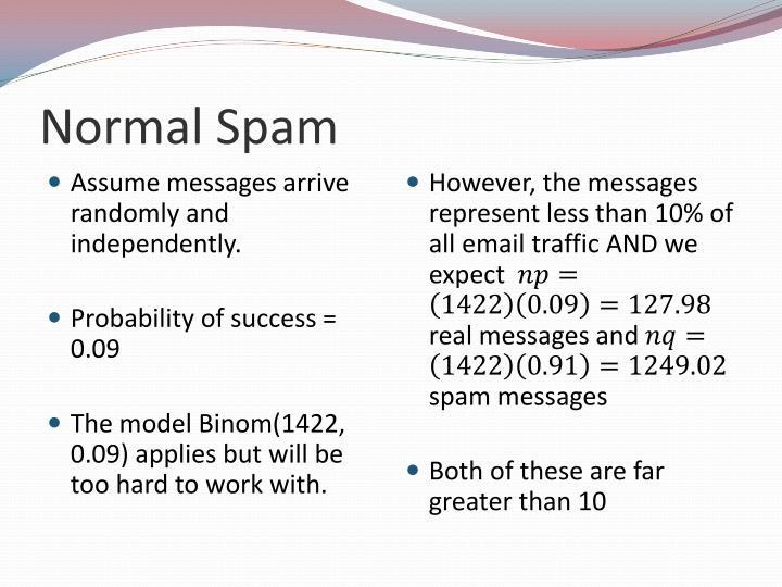Normal Spam