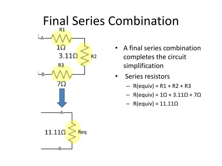 Final Series Combination