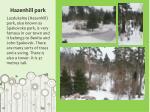 hazenhill park