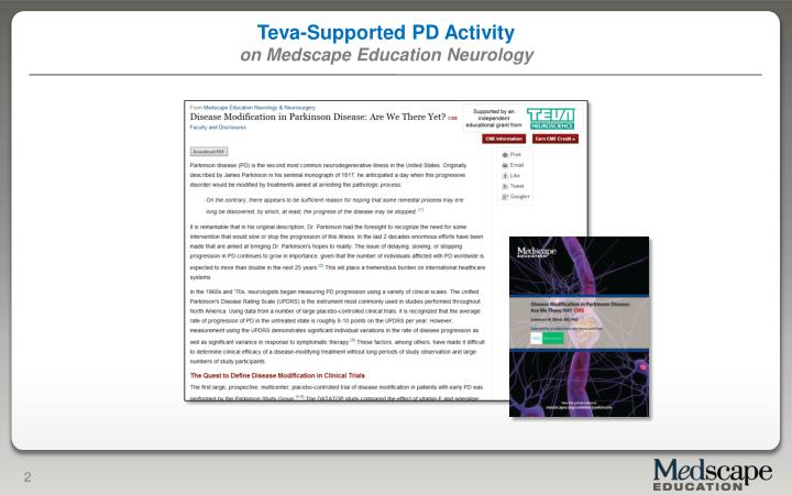 Teva-Supported