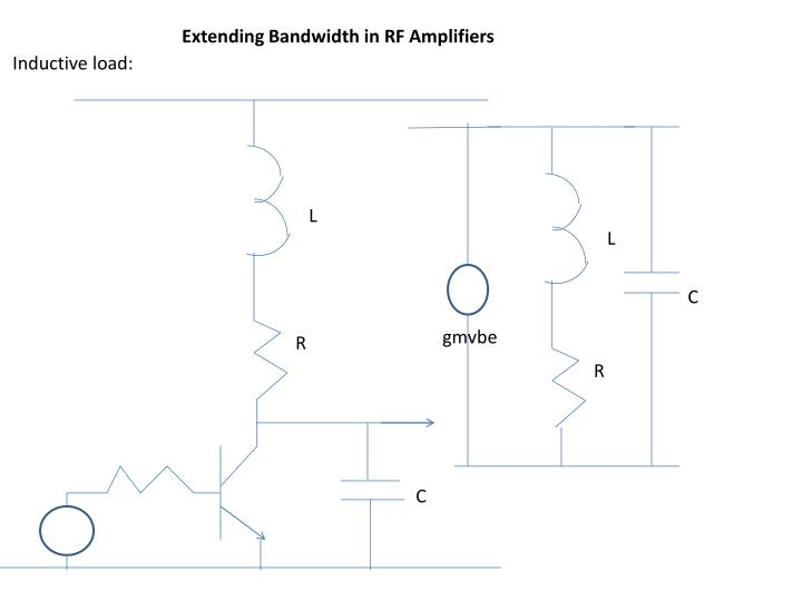 Extending Bandwidth in RF Amplifiers