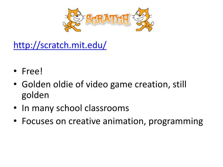 http://scratch.mit.edu/