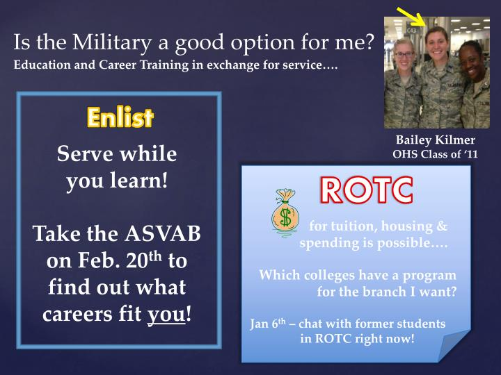 Is the Military a good option for me?
