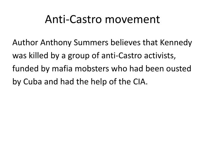 Anti-Castro movement