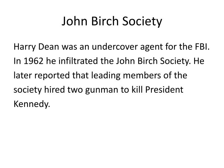 John Birch Society