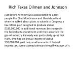 rich texas oilmen and johnson