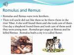 romulus and ramu romulus and remus